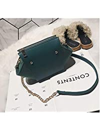 Famous Designer Brand Luxury Women Leather Handbags Quality Suede Nubuck Leather Clutch Color Green