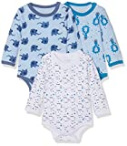 Care Body Bebé-Niños pack de 3 o pack de 6, Multicolor (Light Sky Blue 770), 98