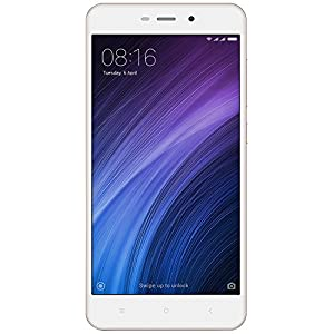 "Xiaomi Redmi 4A - Smartphone libre de 5"" (4G, WiFi, Bluetooth, Snapdragon 425 1.4 GHz, 16 GB de ROM ampliable, 2 GB RAM, rear camera 13 Mp, MIUI Android, dual-SIM), air [Spanish version]"