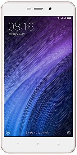 """Xiaomi Redmi 4A - Smartphone libre de 5"""" (4G, WiFi, Bluetooth, Snapdragon 425 1.4 GHz, 16 GB de ROM ampliable, 2 GB de RAM, cámara trasera de 13 Mp, Android MIUI, dual-SIM), oro [versión española]"""