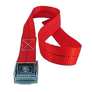 Gurtschnellverschluss 60cm Gurt (100, rot)