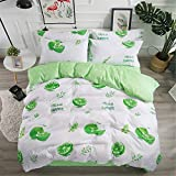 Bettwäsche für das ältere Schlafzimmer, Herbst und Winter, schöne Bettwäsche, Obst-Set von drei oder vier Sätzen von kühlen Sommer JP-Queen