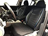 Sitzbezüge K-Maniac für Toyota Auris Touring | Universal schwarz-blau | Autositzbezüge Set Vordersitze | Autozubehör Innenraum | V2312055 | Kfz Tuning | Sitzbezug | Sitzschoner