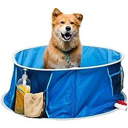 Coco Jojo Pop Up baño de mascota Perro piscina grande