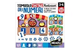 Headu Tombola Tattile Montessori dei Numeri, IT20249