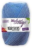 Woolly Hugs Year Socks Fb. 07 JUL, 100g Sockenwolle mit dezentem Degradé Farbverlauf