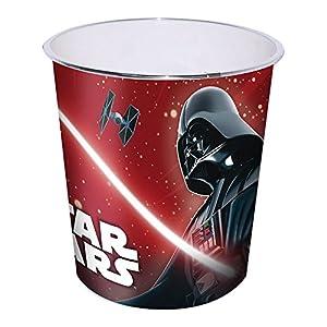 Star WRAS – Darth Vader – Papierkorb Mülleimer Abfalleimer Eimer Aufbewahrung Kinderzimmer