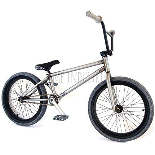 Tackle BMX 50,8cm Komplettes Fahrrad Raw/grau-Flybikes Ilegal BSD Freestyle leicht New stark