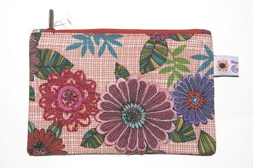 WENDEKREIS Kosmetiktasche Etui Floral Spirit Blumen (Handtasche Damen Floral)