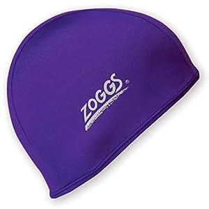 Zoggs Deluxe stretch Spandex swimming cap - (Colour: Purple) [Misc.]