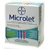 Microlet Lancetas - 200 con Color