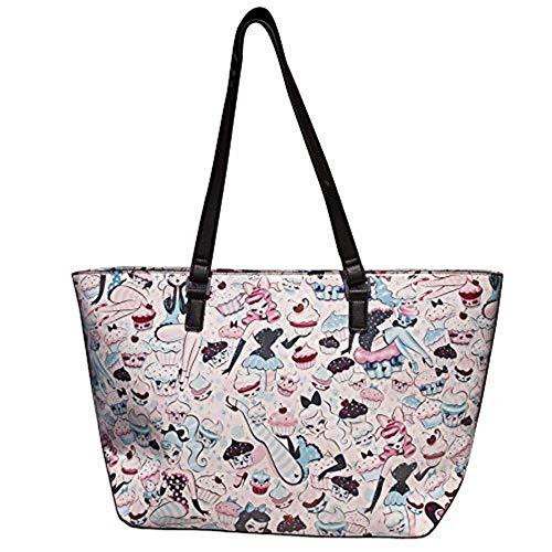 Fluff - Damen Shopper Burly Q Tasche