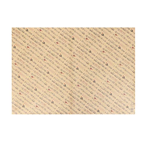IMIKEYA 10 Sheets Vintage Kraft Paper Bouquet Flowers Packaging Gift Wrapping Paper Kraft Paper Retro Paper Stationery (75 * 52cm) -