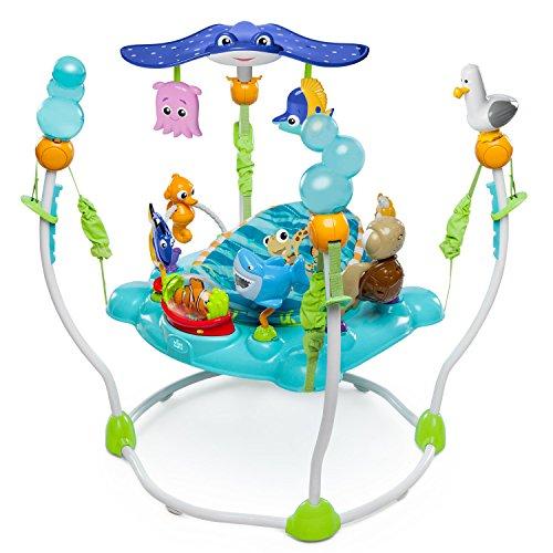Bright Starts Disney Baby Saltador y Centro de actividades Buscando a Nemo con más de 13 juguetes, luz y música, 4… 10