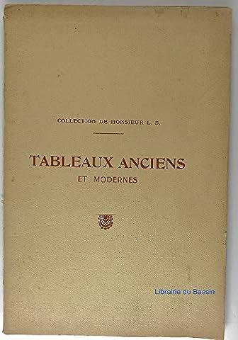 Catalogue de tableaux anciens et modernes Cadres en bois sculpté provenant de la collection de M. L. S.