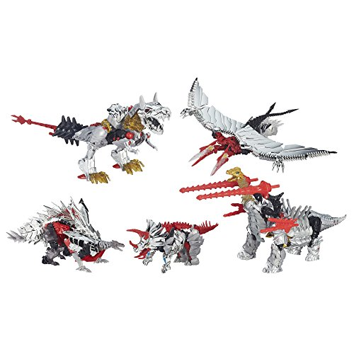 Transformers Platinum Edition Dinobots 5 Pack G1 Head Grimlock Slug Slog Set of 5 by Transformers