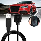Car USB Cable 2A Electric Current With Magnet Ring Round Head Panel