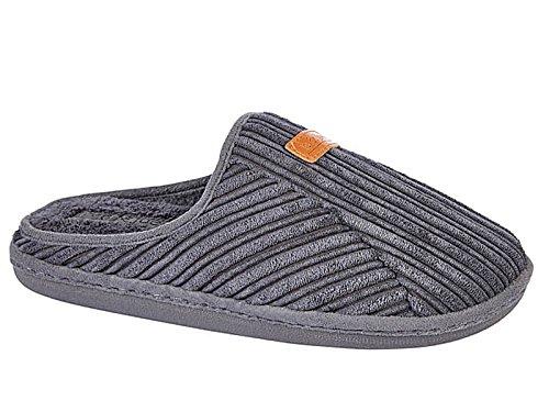 Foster Footwear, Pantofole uomo Grey