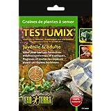 Exoterra Graines Tortue Sachet de 75 g pour Reptiles et Amphibiens