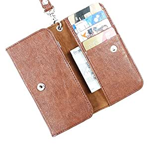 Dooda PU Leather Flip Pouch Case For Spice Stellar 430