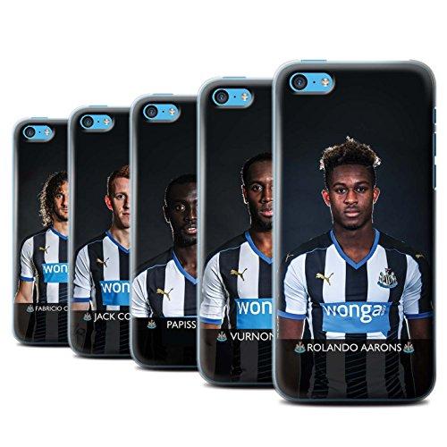 Offiziell Newcastle United FC Hülle / Case für Apple iPhone 5C / Haïdara Muster / NUFC Fussballspieler 15/16 Kollektion Pack 25pcs