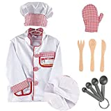Best Creativity for Kids Gift For 6 Yr Old Boys - iPlay, iLearn - Kids Chef Role Play Costume Review