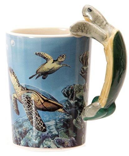 Tasse mit Schildkröten Griff