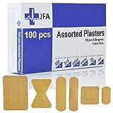 Jfa Tissu assortis pansements (6 tailles) 100 pansements par lot