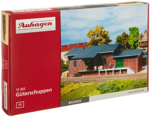 Auhagen - 13322 - Modélisme Ferroviaire - BâtiHommes t t t - Halle Aux Marchandises 61e25f