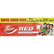 Dabur Red Paste - 200 g (Pack of 2)