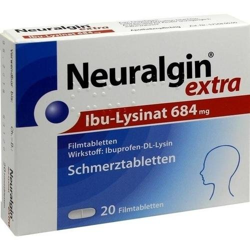 Neuralgin extra Ibu Lysinat Filmtabletten