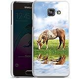 Samsung Galaxy A3 (2016) Housse Étui Protection Coque Poney Cheval Jument
