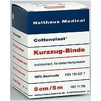 KURZZUGBINDE Cottonelast 5mx8cm, 1 St preisvergleich bei billige-tabletten.eu