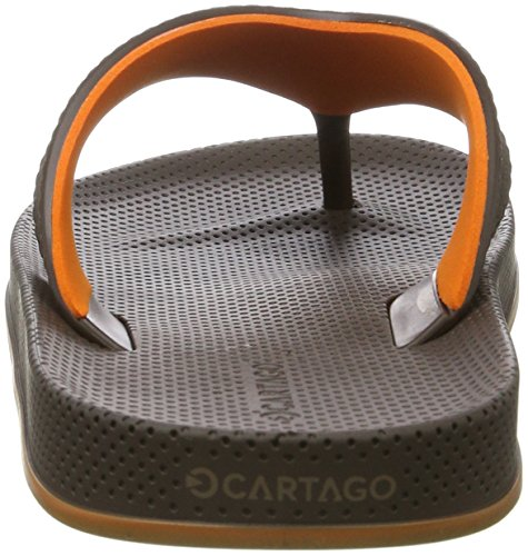 Cartago Herren Siena Thong AD Zehentrenner Mehrfarbig (brown/orange)