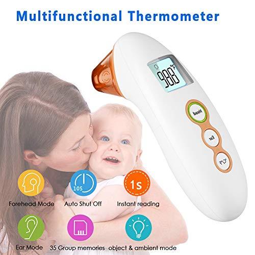 Zoom IMG-1 termometro febbre digitale a infrarossi