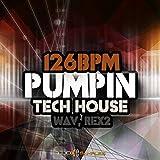 126 BPM Pumpin Tech House - 1351 High Quality Loops & Samples | DVD non Box