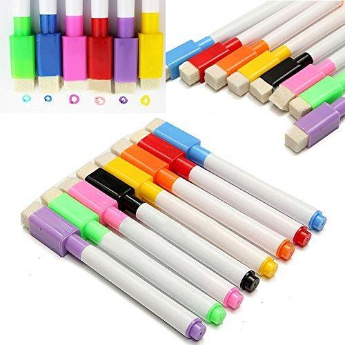 Xpres 8 Farben Magnetische Whiteboard Marker Stifte mit Radiergummi