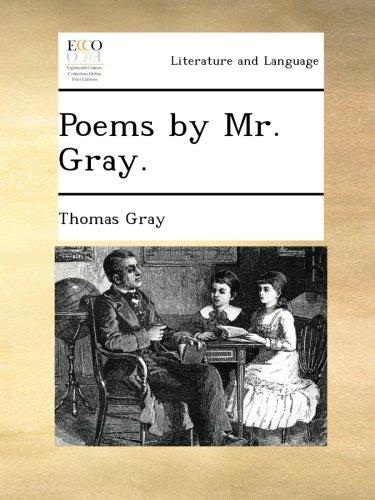 Poems by Mr. Gray. por Thomas Gray