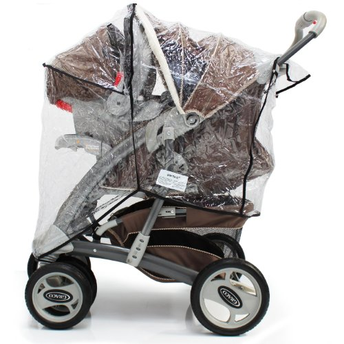 Baby Travel Travel System Rain Cover Universal Fit 51pDyo7fTOL