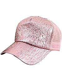 Bling Acrylgeflecht Summer Cool Damen Herren Basecap Hip-Hop-Street-Dance Kappe Mütze