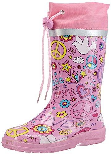 Beck Peace, Mädchen Langschaft Gummistiefel, Pink (pink 06), 31 EU