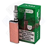 Tecc Arc Slim Vape Kit (or rose) Kit 2ml nicotine libre