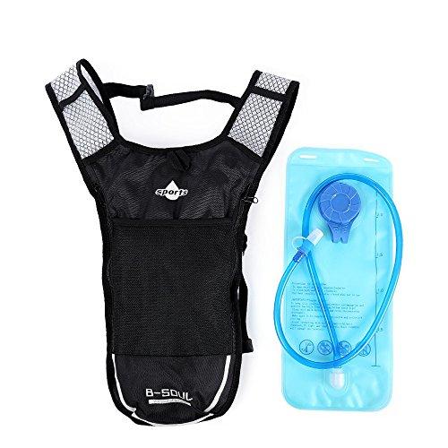 2l Wasser Rucksack 5L Fahrrad Hydration Camel Wasser Blase Bag Camping Wandern Camelback ( grau