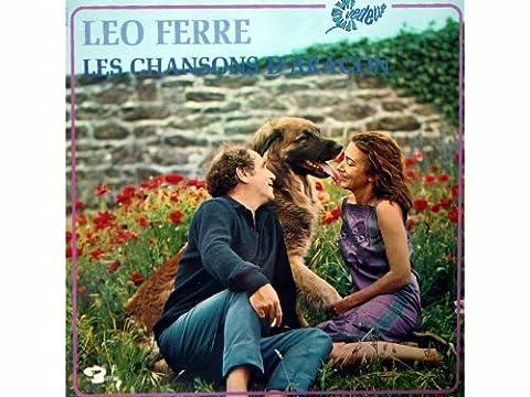 Les Chansons D' Aragon [Vinyl LP record] [Schallplatte]