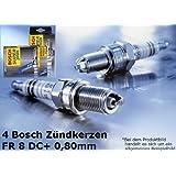 4 Pieza Bosch Bujía Super Plus FR8DC + Apto para Fiat Brava Bravo Doblo Panda Stilo
