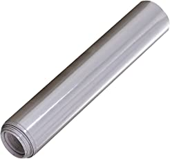 SUPVOX PVC Sticker for Car Auto Vehicle DIY Decor Electroplating Wrap Roll Silver
