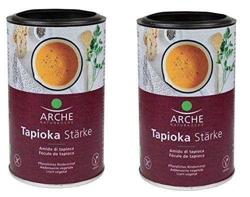 Arche Naturküche Tapioka Stärke, Bindemittel aus der Maniokwurzel, Bio, 2 x 200g