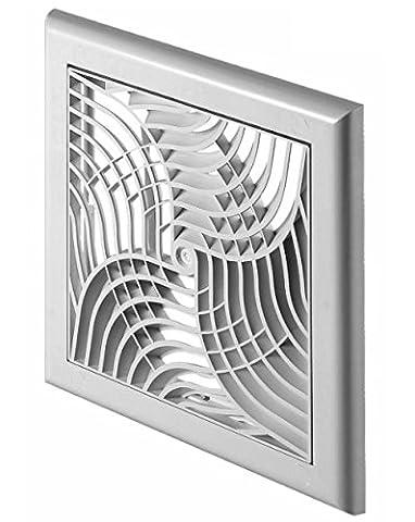Modernes Design Wandbelüftungsgitter Abdeckung mit Netz und Verschluss 150x150mm