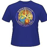 Plastic Head Men's Hawkwind - British Tribal Music T-Shirt, Blue, X-Large