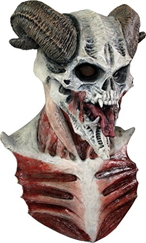 Devil skull mask Halloween (máscara/ careta)